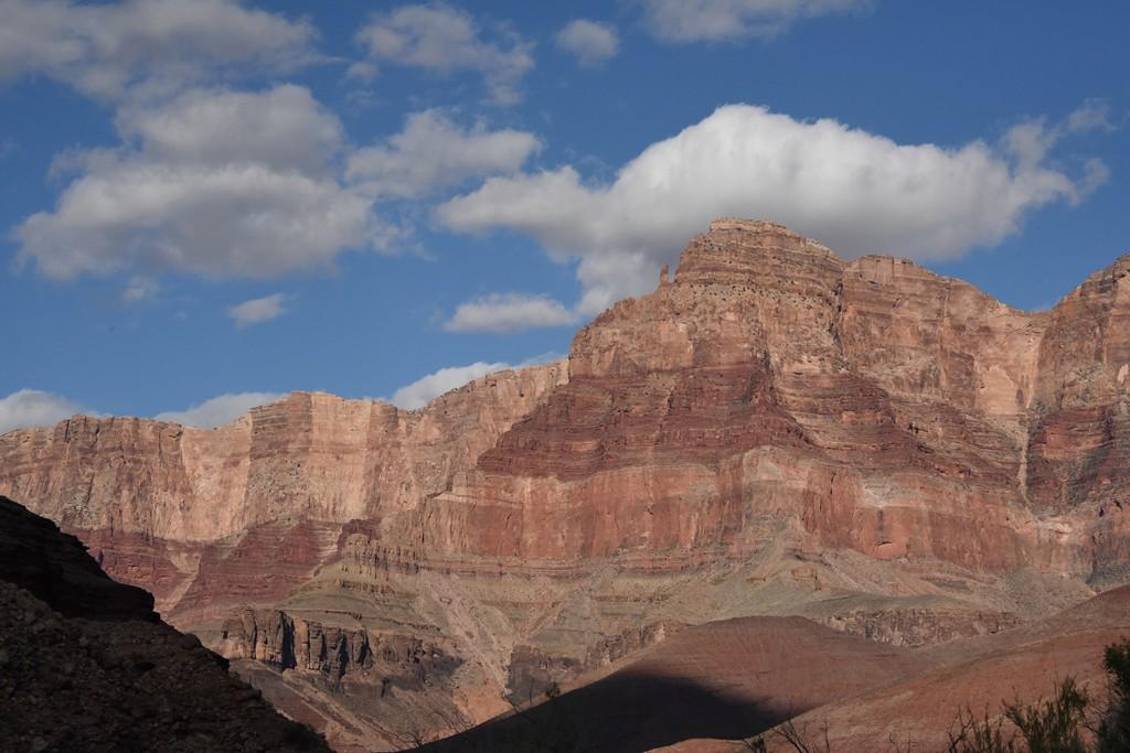 Comanche Point, clouds - Escalante camp #1, Grand Canyon