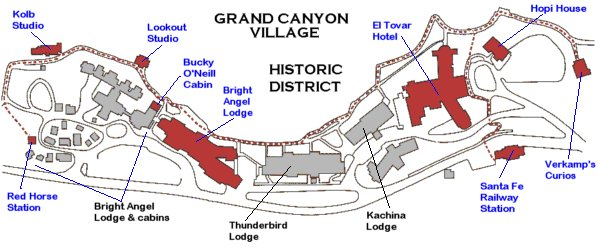 Grand Canyon Village Historic District