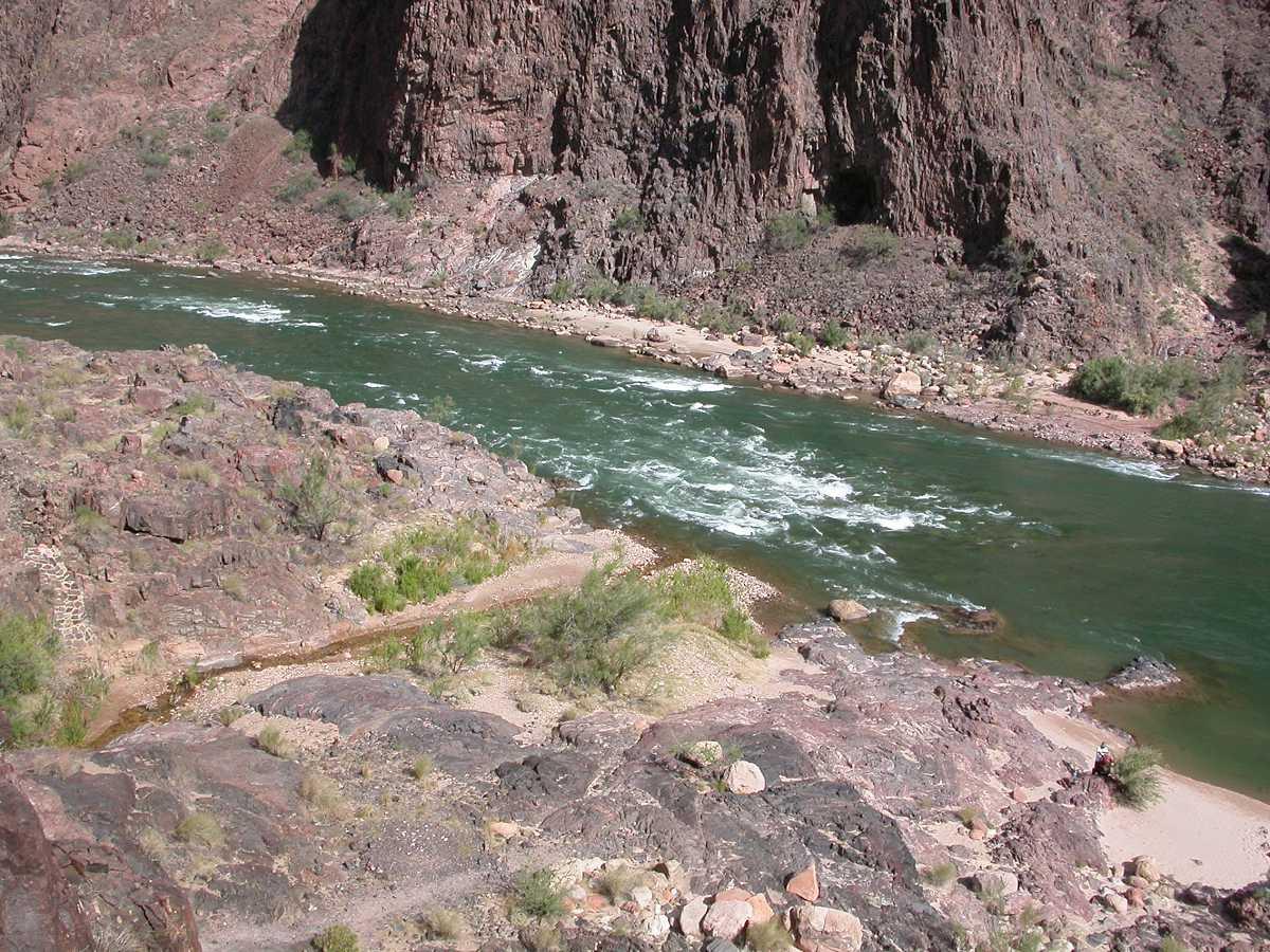 Pipe Creek Rapid Colorado River