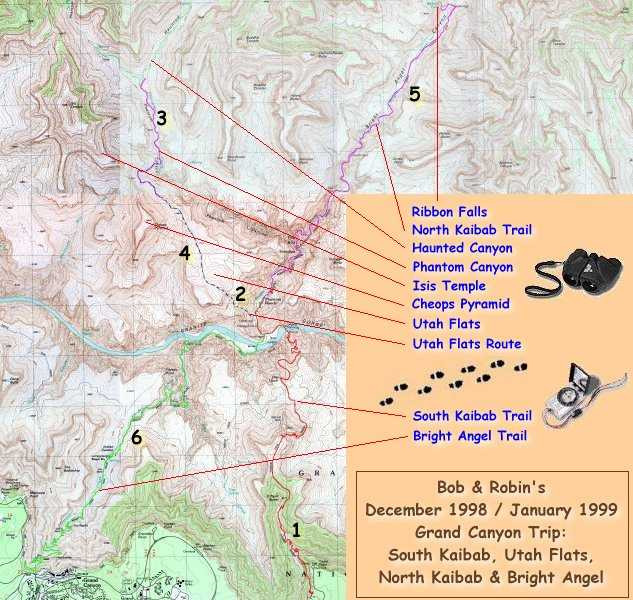 Trip Report South Kaibab Utah Flats North Kaibab Amp Bright Angel
