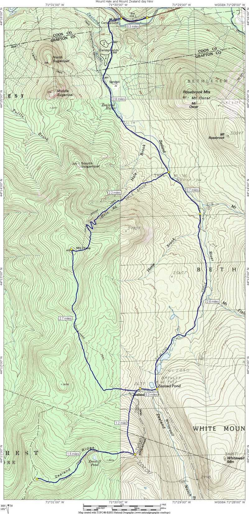 Mount Hale and Zealand Mountain day hike on jefferson trail map, franconia ridge trail map, nelson trail map, ethan pond trail map, bristol trail map, china trail map, peru trail map, victoria trail map, turkey trail map, austria trail map, galehead trail map, tobago trail map, germany trail map, flume trail map, mexico trail map, fredericton trail map, liberty trail map, jamaica trail map,